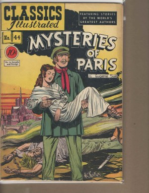 Classic Illustrated # 44 - Vg Very Good