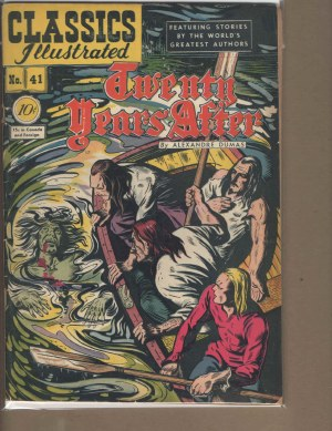 Classic Illustrated # 41 - Vg Very Good