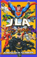 Jla VOL 4 Strength in Numbers TP ***USED COPY***