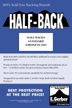 Half Backs Standard (Order In 100) (Net)
