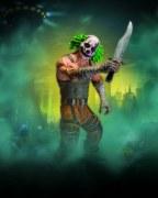 Batman Arkham City Ser 3 Clown Thug W Knife Af (Net)