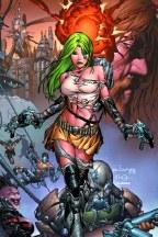 Aphrodite IX #3 Cvr C Basaldua
