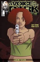 Voice In the Dark Barrel of a Gun #2 (of 5) Cvr A Taylor (