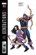 Generations Hawkeye & Hawkeye #1 Torque Var