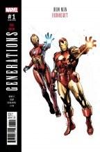 Generations Iron Man & Ironheart #1 Coipel Var