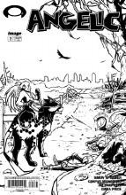 Angelic #2 Cvr C B&W Walking Dead #50 Tribute Var