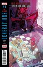 Generations Morales & Parker Spider-Man #1 2nd Ptg Var