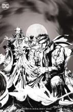Batman Vs Ras Al Ghul #1 (of 6) B&W Var Ed