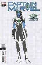 Captain Marvel #9 2nd Ptg Carnero Var