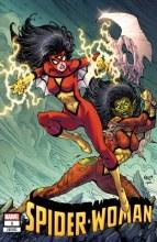 Spider-Woman #1 Nauck Villains Var