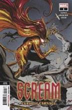 Scream Curse of Carnage #1 2nd Ptg Var