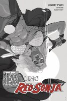 Killing Red Sonja #2 10 Copy Ward Grayscale Incv