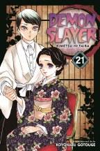 Demon Slayer Kimetsu No Yaiba GN VOL 21
