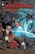 Dungeons & Dragons Mindbreaker #1 (of 5) Cvr A Max Dunbar (C