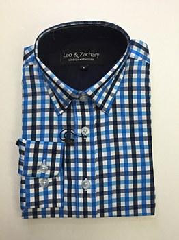 Leo & Zachary Boys Print Shirts