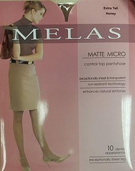 Melas Matte Micro Pantyhose 10 den