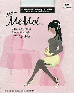 Memoi Maternity Opaque Tights # MA-404