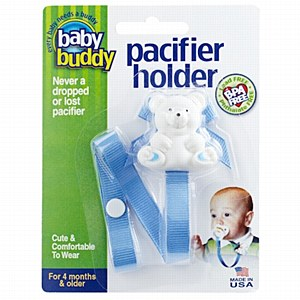 Baby buddy: Pacifier Holder