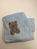 Baby Cuddly Lt Blue Blanket