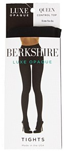 Berkshire Luxe Opaque Control Top Tights # 4741