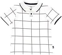 Boys Grid Polo-10--