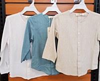 Boys Twill Shirt-Beige-18 Mont