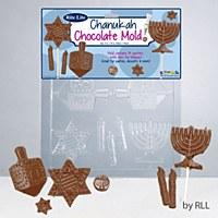 Chanukah Chocolate mold