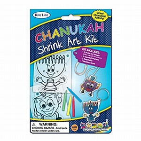 Chanukah Shrink art kit