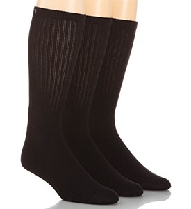 Calvin Klein Mens black sport socks