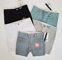 Crew Chino Shorts-Black-2-