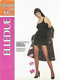 Elledue Support Pantyhose 60 Denier
