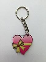 Emoji Heart W/Bow