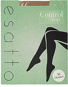Esatto 30 Deniar Control Top Pantyhose