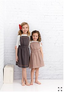 Girls Pinafore Jumper-Beige-10