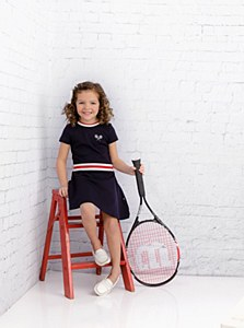 Girls Tennis Dress-10--