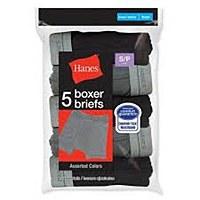 Hanes Boys Boxer Briefs 5 Pack #B749A5