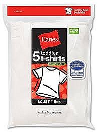 Hanes Toddler Boys T-Shirts 5 Pack #TB2145