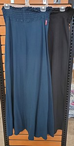 Hard Tail Long Skirt-Black-L-