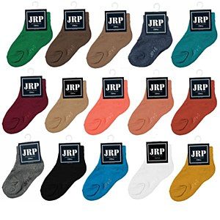 JRP Crew Sock-Navy-5-6-
