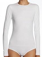 Kiki Riki Cotton Long Sleeve Bodysuit #15017
