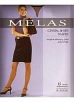Melas Crystal Sheer Shaper Pantyhose # AS-611