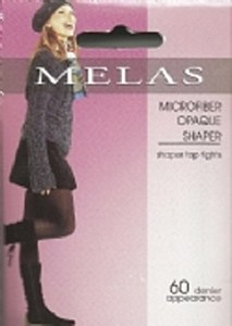 Melas Microfiber Shaper Opaque Tights # AS-713