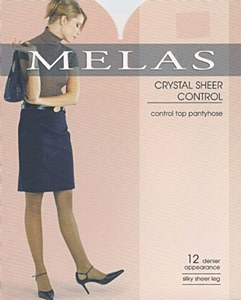 Melas Crystal Sheer Control Pantyhose # AS-609