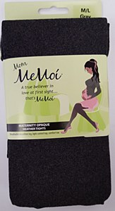 Memoi Maternity Heather Opaque Tights