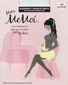 Memoi Maternity Opaque Tights # MA-404