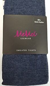 Memoi Cotton Flat Sweater Tights #MO-325