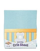 Solid Portable Crib Sheet