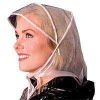 Rain Plastic Bonnet