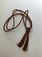 Rope Tassel Belt - Coffee