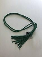 Rope Tassel Belt - Green